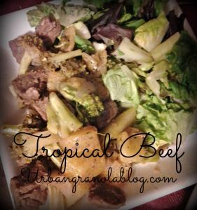 tropical beef